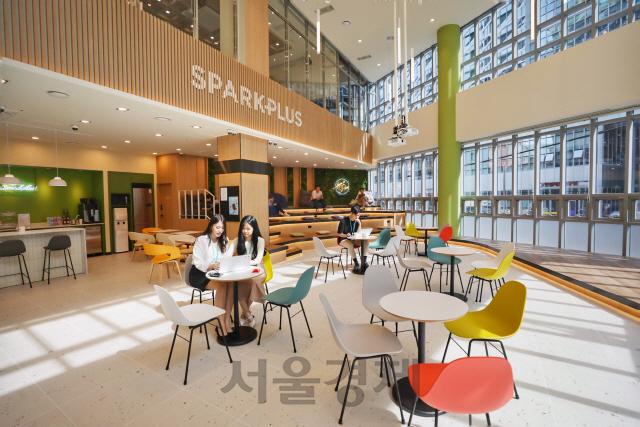 공유오피스 스파크플러스, '선릉3호점'(11호점) 10월 오픈