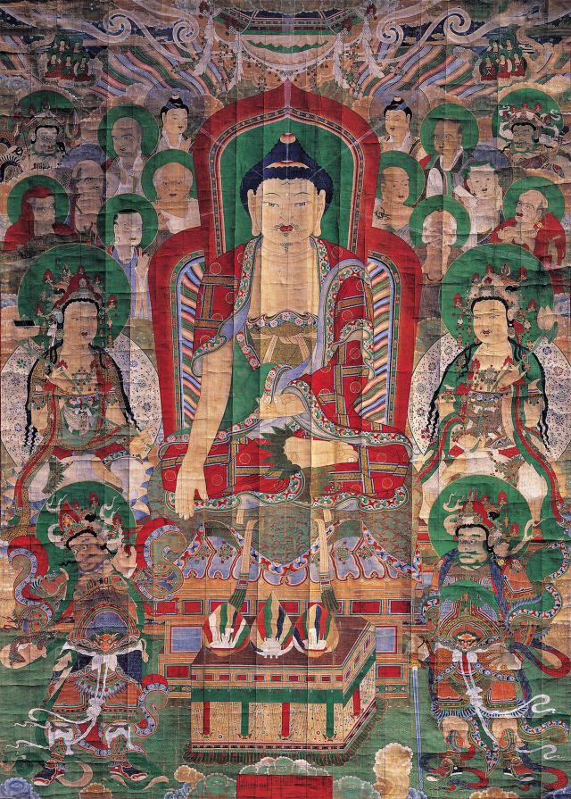 [문화재의 뒤안길]그림 속 부처님의 비밀을 찾다