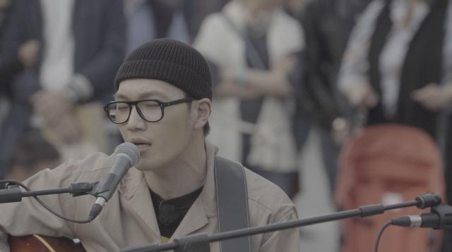 '비긴어게인3' 박정현, 아레나 원형 극장 앞 특별한 무대..'오 마이 갓'