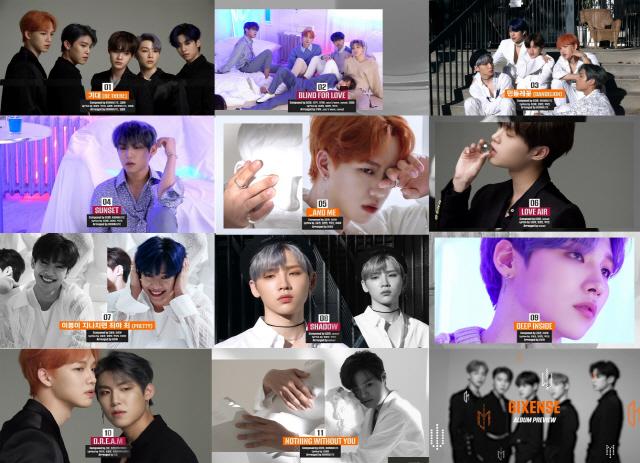 AB6IX (에이비식스), 정규 앨범 '식스센스'...눈부신 음악적 성장 기대감 UP