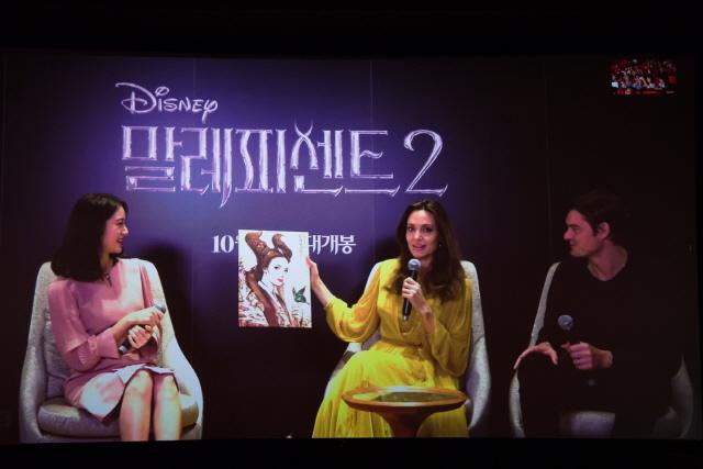 """'말레피센트 2' 안젤리나 졸리 """"자신만의 방식으로 여성·엄마  캐릭터 그려"""""""