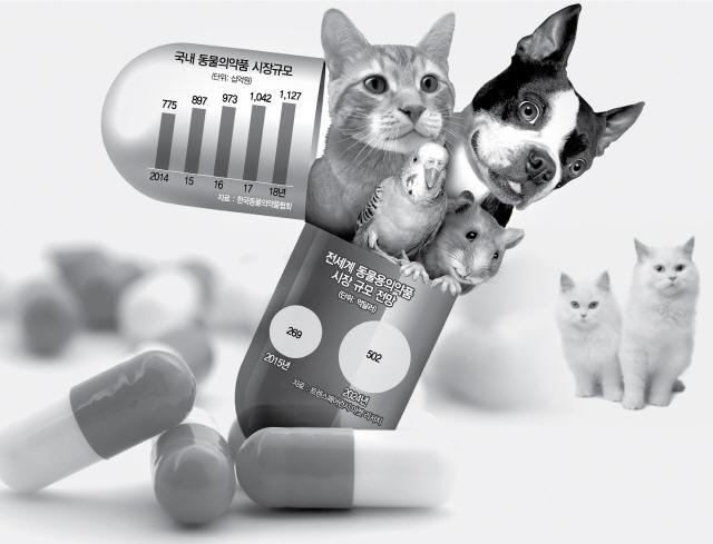 [펫코노미]동물용 의약품시장 활활…항암·치매치료제도 개발
