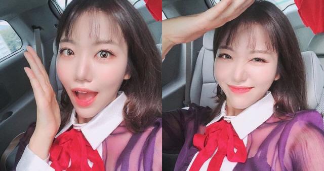 '미스트롯' 김희진, 축제 현장 팬들 생일축하 노래 열창...특별한 생일