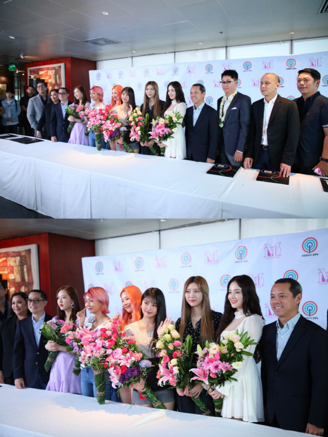 모모랜드, 필리핀 거대 미디어 'ABS-CBN'과 매니지먼트 협약 체결