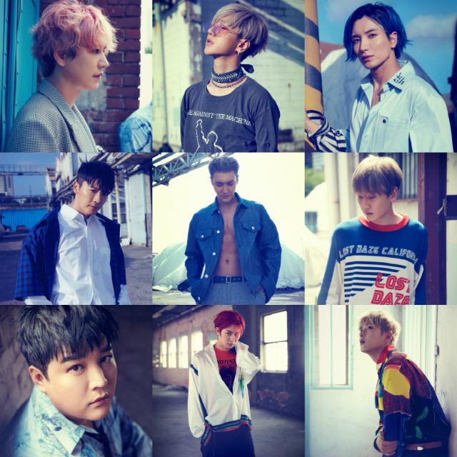 슈퍼주니어, 오늘(7일) 타이틀 곡 '슈퍼 클랩' MV 티저 영상 공개
