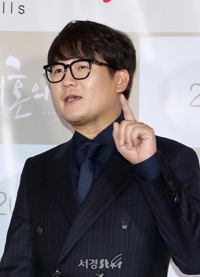 김강현, 부드러운 시선 (재혼의 기술 VIP시사회)