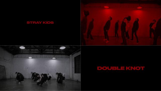 스트레이 키즈, 신곡 'Double Knot' 안무 공개...최강 퍼포먼스