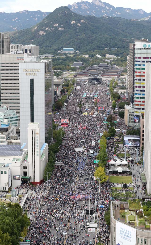 황교안·나경원, 오늘 '조국 퇴진' 광화문 집회 나서