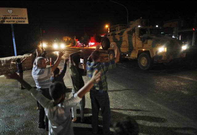 터키, 쿠르드 공격