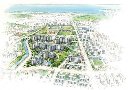 규제 청정지역 제주에 새 아파트 뜬다 '동홍동 센트레빌' 주목