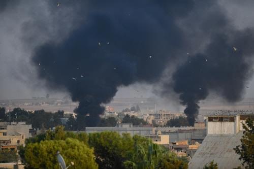 """""""터키, 시리아내 쿠르드 지역 공격으로 15명 사망…민간인 8명"""""""