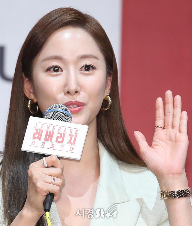 전혜빈, 시청률 공약 (레버리지 제작발표회)