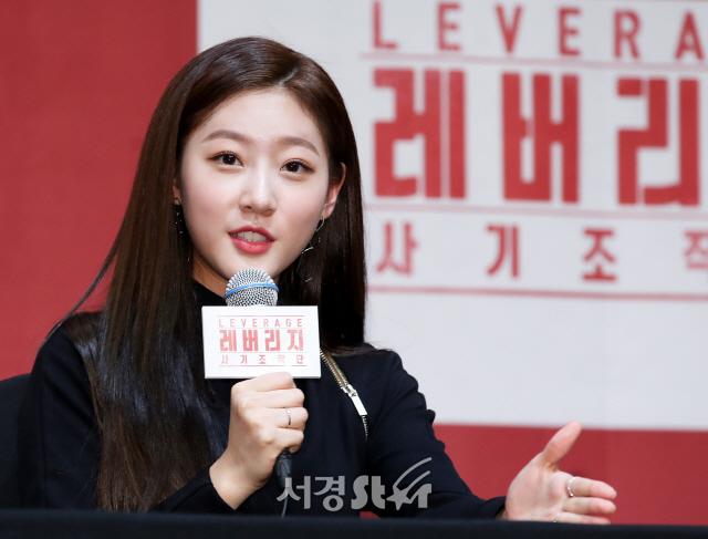 김새론, 초롱초롱한 인형미모 (레버리지 제작발표회)