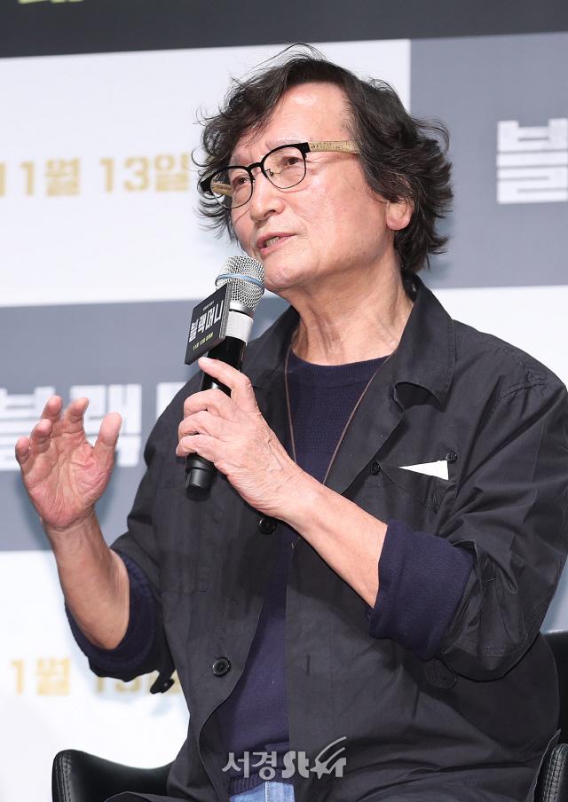 정지영 감독, 현실과 영화가 검찰개혁 딱 맞물려! (블랙머니 제작보고회)