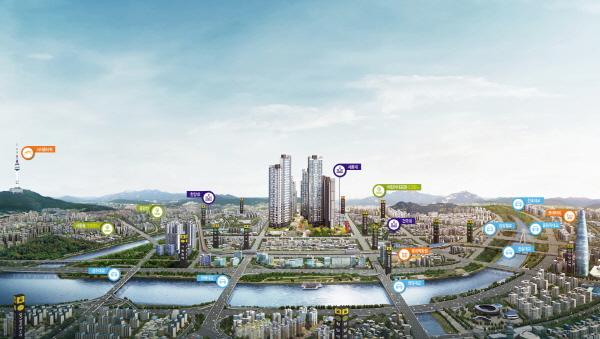 군자동에 들어서는 29층 아파트 '광진 벨라듀', 10월 오픈 앞둬