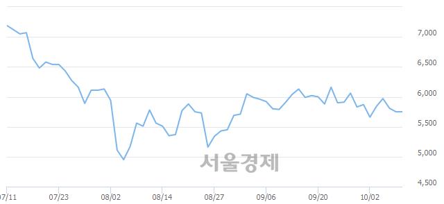 코에스디생명공학, 상한가 진입.. +29.91% ↑