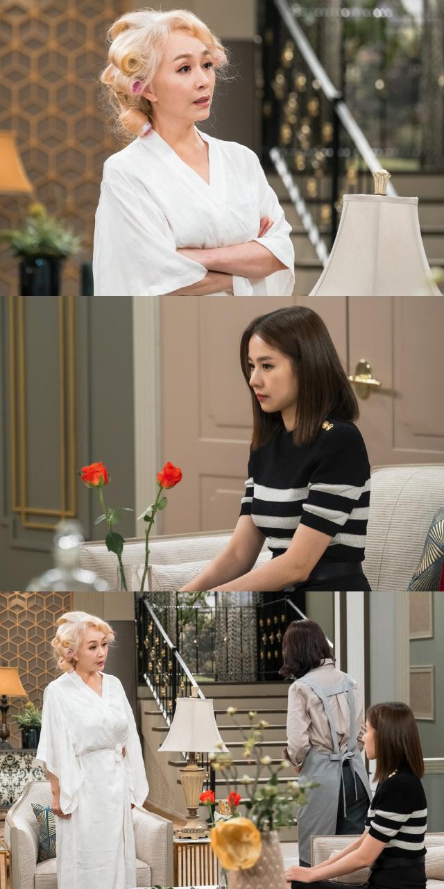 '사풀인풀' 조윤희-박해미, 팽팽한 두 여자의 신경전..아슬아슬 대치 현장