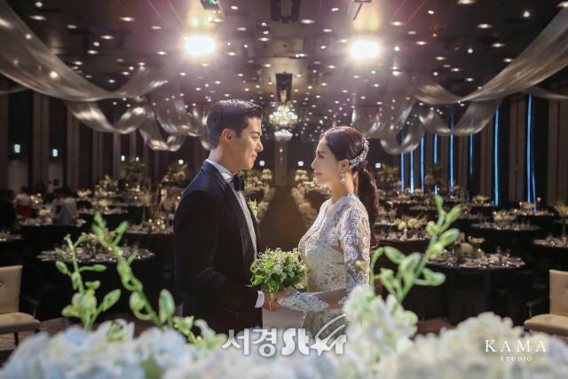이상화-강남, 결혼식 사진 공개