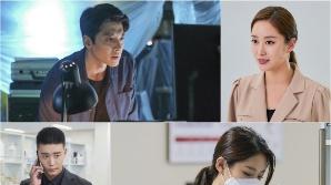 '레버리지:사기조작단' 전혜빈, 짙은 메이크업! 올라간 눈꼬리+가짜 매력 점까지