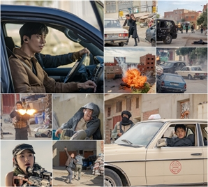 '배가본드' 이승기·배수지·신성록·신승환, 블록버스터급 폭파 추격신…최고의 1분