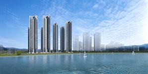 [분양단지 들여다보기] 호수 품은 송도 디엠시티…대방건설 이달 분양