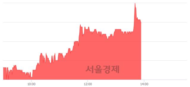 코케이엠, 3.46% 오르며 체결강도 강세 지속(256%)