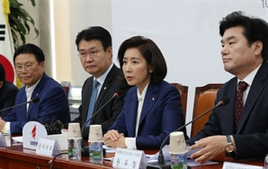 """나경원 """"국론분열..문 대통령 사과, 이해찬·노영민 사퇴"""""""