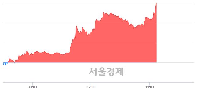 코선데이토즈, 상한가 진입.. +29.78% ↑