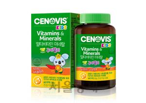세노비스 키즈 '10가지 비타민·미네랄 사과맛 젤리에'...비타민구미젤리 출시