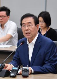 """박원순 """"개발은 불가피…부동산 투기이익은 철저히 환수해야"""""""