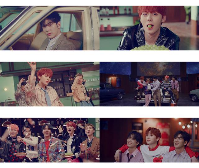 뉴이스트, 미니 7집 타이틀곡 'LOVE ME' MV 티저 첫 공개..'달콤美 가득'