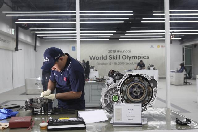 현대차 '세계 정비사 기능경진대회'