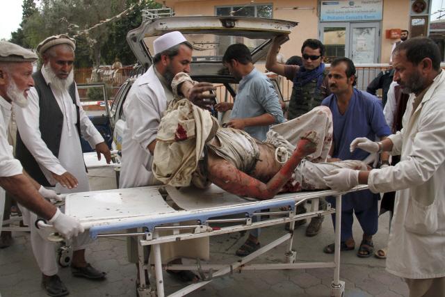 '아프간 이슬람사원서 테러…62명 사망·36명 부상'