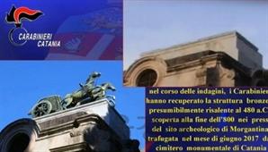 1t짜리 청동상 훔친 이탈리아 절도범…대체 어떻게?