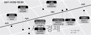 강남 요지 역삼대로에 '창업가 거리' 생긴다