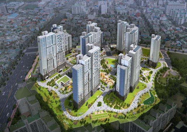 [눈길 끄는 분양단지]포스코건설, 대전 '목동 더샵 리슈빌'