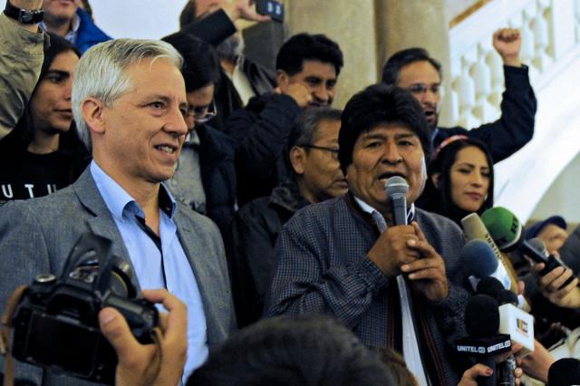 볼리비아 대선, 12월에 결선 치르나