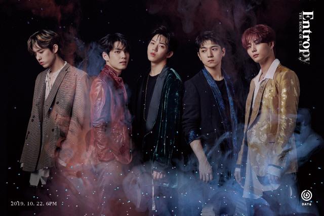 DAY6, 신곡 'Sweet Chaos' 뮤비 티저 첫 공개...아드레날린 폭발하는 인트로