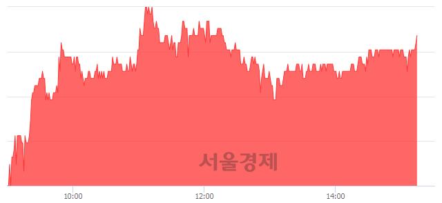 유한독, 4.81% 오르며 체결강도 강세 지속(203%)