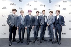 BTS, 英 기네스 월드 레코드 신기록 추가