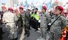 """[단독]경찰 """"군복 입은 집회 참가자 채증 단속"""""""