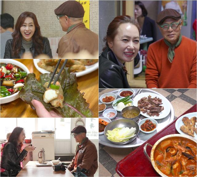 '백반기행' 김선경, 광주의 특별한 간식 '상추튀김'..'이모가 다 사줄게'