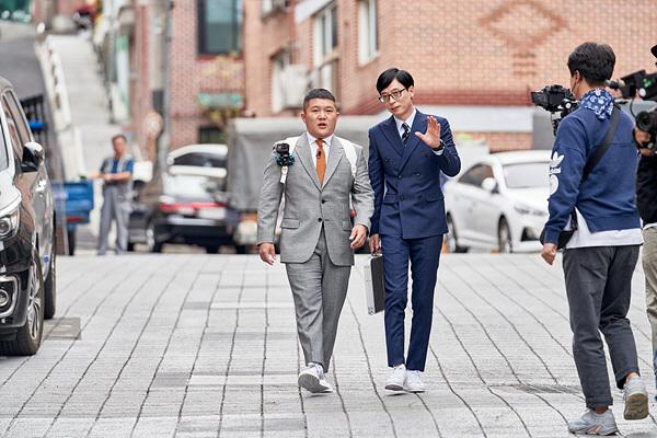 '유 퀴즈 온 더 블럭' '두텁 바위 마을' 후암동으로 떠난 두 자기..'만담 폭발'