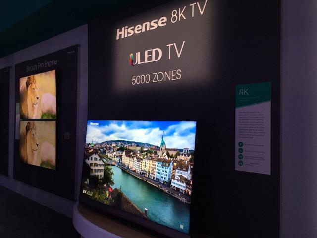 '中 하이센스, TV 특허 침해말라' 현지업체에 경고장 보낸 LG전자