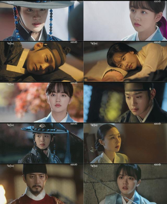 '녹두전' 김소현, '광해' 정준호 진짜 정체 알았다 '위기 고조'
