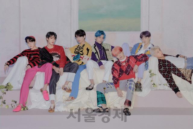 BTS 앨범 2장 美 '빌보드 200' 동시 재진입