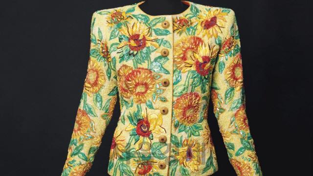 [핫딜] 이브 생 로랑이 '해바라기'에서 영감 받은 재킷