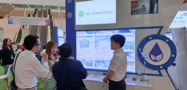 수처리·라돈측정 세계적 기술 '엄지척'…'환경·매출 多 잡을 것'