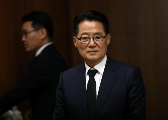 박지원, '보수통합론'에 '박근혜 전 대통령 사전에 '용서' 없어…분열될 것'