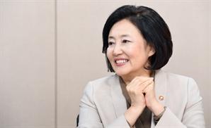 """박영선 """"30년전 테제베 도입 취재했는데...이젠 佛이 기술 요청"""""""